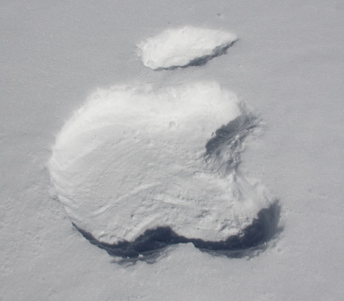 Apple à la montagne