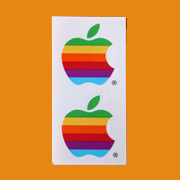 Apple Sticker 1998