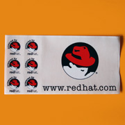 Red Hat Sticker 1999