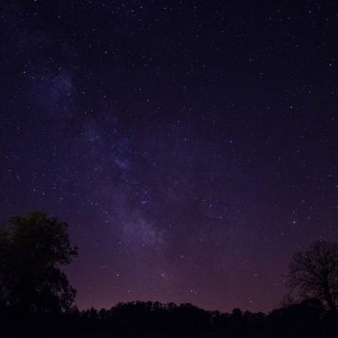 Nuit pourpre Purple night Sky