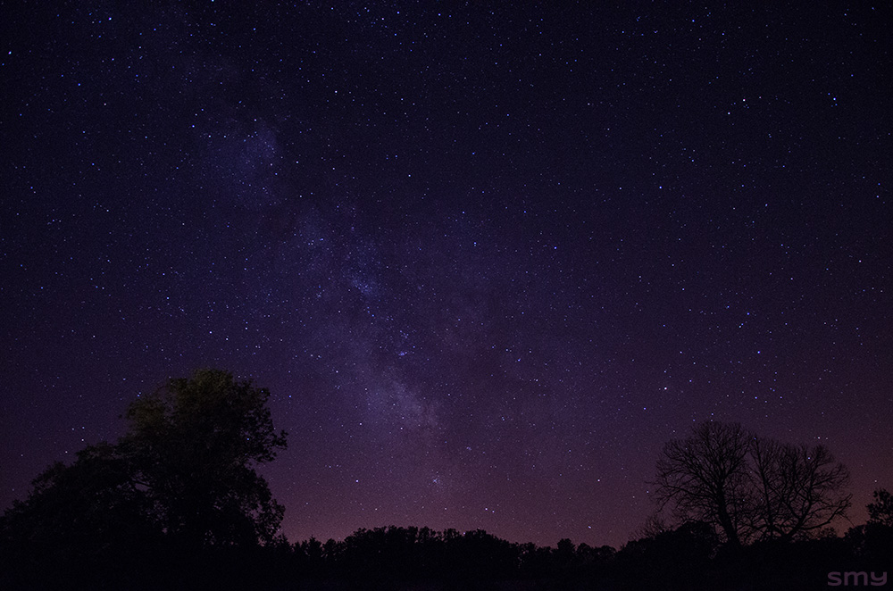 Nuit pourpre Purple night Sky