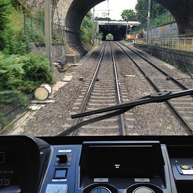 Le train électrique…