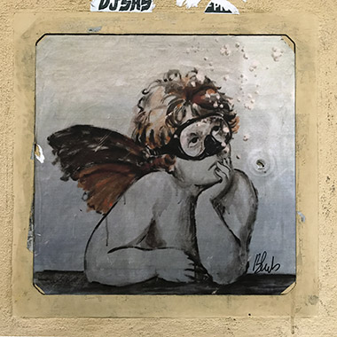 Street Art – Blub L'Arte sa nuotare